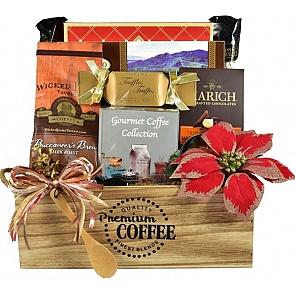 The Jingle Java Café Coffee Gift Basket - The Jingle Java Café Coffee Gift Basket