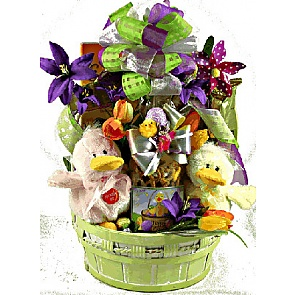 Just Ducky Easter Gift Basket - Send kids Easter baskets online