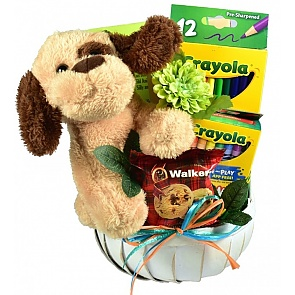 Just For Kids Gift Basket - Just For Kids Gift Basket #KidsIsolationGift