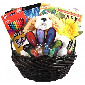 Kids Only Activity Gift Basket - Kids Only Activity Gift Basket