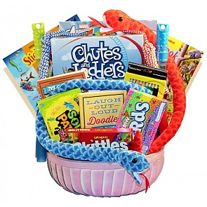 Kids Zone Activity Basket For Kids - Kids Zone Activity Basket For Kids