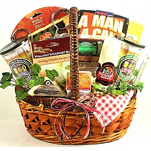 King of the Grill Gift Basket -