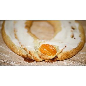 Lane's Bakery Legendary Apricot Kringle - Lane's Bakery Legendary Apricot Kringle