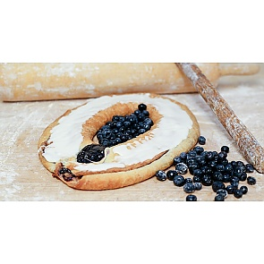 Lane's Bakery Legendary Blueberry Kringle - Lane's Bakery Legendary Blueberry Kringle