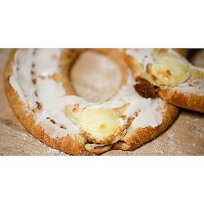 Lane's Bakery Legendary Cheese Kringle - Lane's Bakery Legendary Cheese Kringle