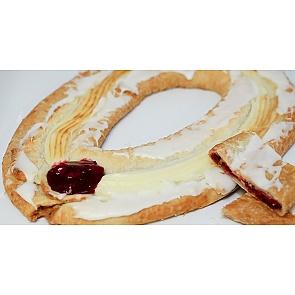 Lane's Bakery Legendary Cherry Cheese Kringle - Lane's Bakery Legendary Cherry Cheese Kringle