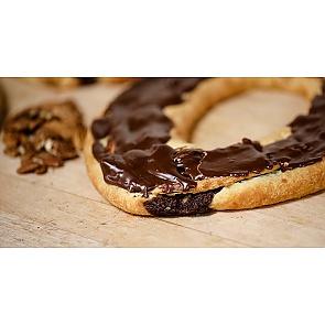 Lane's Bakery Legendary Chocolate Pecan Fudge Kringle - Lane's Bakery Legendary Chocolate Pecan Fudge Kringle