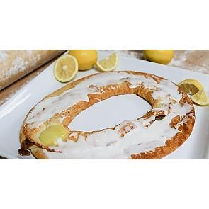 Lane's Bakery Legendary Lemon Icing Kringle - Lane's Bakery Legendary Lemon Icing Kringle