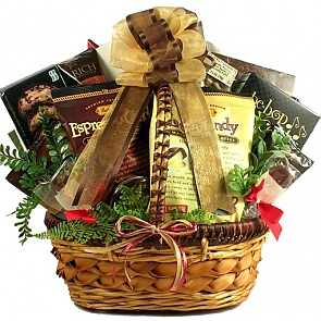 Love You A Latte! Coffee Lovers Gift Basket -