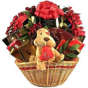 Luv Ya Gift Basket  - Romantic Gift Baskets for Couples