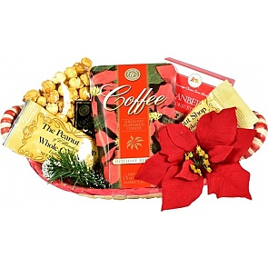 Merry Munchies Holiday Gift Basket - Merry Munchies Holiday Gift Basket #HolidayGiftBasket