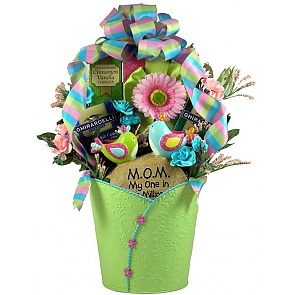 One In A Million Mom Gift Basket -