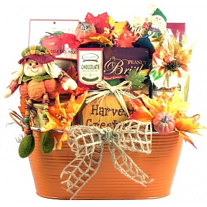 Pumpkin Patch Fall Gift Basket - Large - Pumpkin Patch Fall Gift Basket - Large #FallGiftBasket