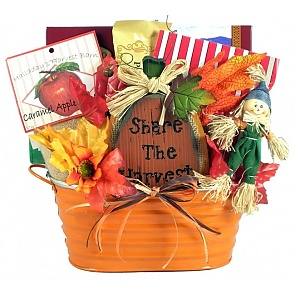 Pumpkin Patch Fall Gift Basket - Medium - Pumpkin Patch Fall Gift Basket - Medium #FallGiftBasket