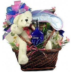 Rest and Renewal Aromatherapy Spa Gift Basket - Spa Gift Baskets for Women
