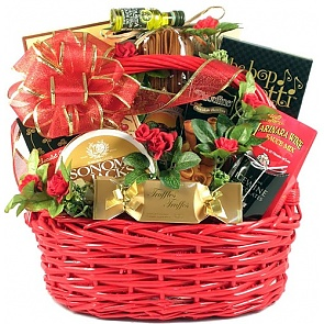 Date Night Romantic Gift Basket - Romantic Gift Baskets for Couples