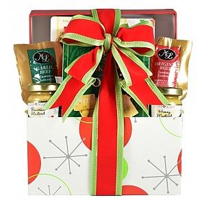 Santa's Sampler Holiday Gift (Small) - Santa's Sampler Holiday Gift (Small) #HolidayGiftBasket #ChristmasGiftBasket