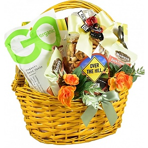 A Senior Moment Birthday Gift Basket