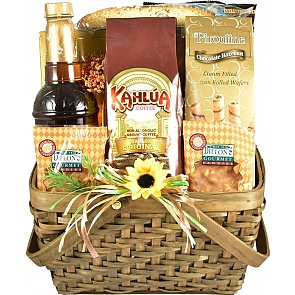 Coffee and Sweets Gift Basket - Coffee and Sweets Gift Basket