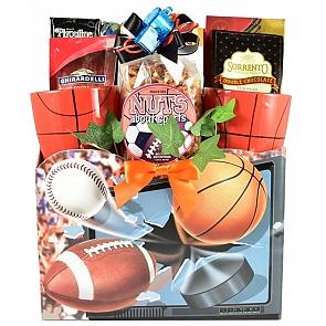 Slam Dunk Basketball Gift Basket - Slam Dunk Basketball Gift Basket