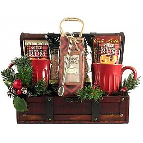 Snuggle Up Christmas Gift Basket -