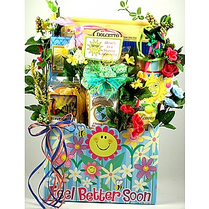 Sunny Days Ahead Get Well Gift Basket -