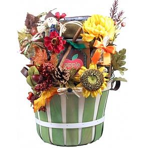 Taste of Autumn Fall Gift Basket - Taste of Autumn Fall Gift Basket #FallGiftBasket