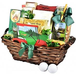 The Back Nine Golf Gift Basket