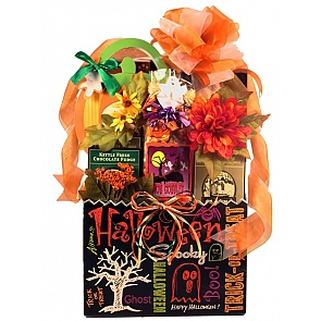 Trick-Or-Treat Halloween Gift Basket - Large - Trick-Or-Treat Halloween Gift Basket - Large #HalloweenGiftBasket