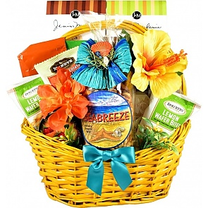 Tropical Treats Gift Basket - Tropical Treats Gift Basket