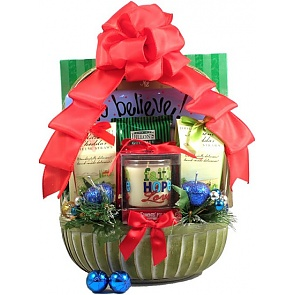 Rejoice! Christian Christmas Gift Basket -