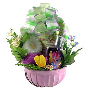 Wild Berry Spa Basket - Spa Gift Baskets for Women