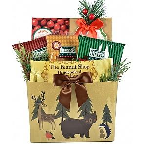 Woodland Wonders Holiday Gift Basket  - Woodland Wonders Holiday Gift Basket  #HolidayGiftBasket